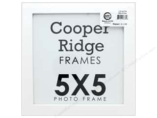 scrapbooking & paper crafts: Sierra Pacific Crafts Frame Wood With Easel 5 in. x 5 in. White