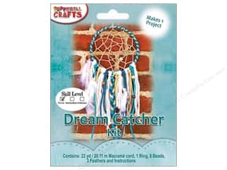 projects & kits: Pepperell Kits Macrame Modern Dream Catcher