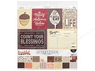 "Authentique Collection Bountiful Collection Kit 12"" x 12"""