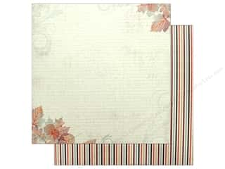 "scrapbooking & paper crafts: Authentique Collection Bountiful Paper 12"" x 12"" Four (25 pieces)"