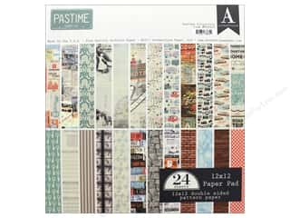 "Authentique Collection Pastime Paper Pad 12""x 12"""