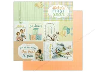"Authentique Collection Beginnings Paper 12""x 12"" Seven (25 pieces)"