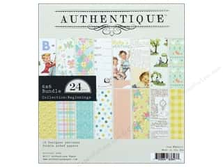 "Authentique Collection Beginnings Bundle Pad 6""x 6"""