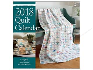 That Patchwork Place Quilt Calendar 2018