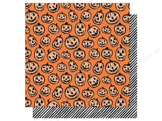 "bootiful: American Crafts Collection BOOtiful Night Paper 12""x 12"" Jack (25 pieces)"