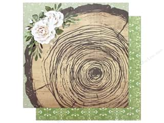 "Bo Bunny Collection Garden Party Paper 12""x 12"" Rustic (25 pieces)"