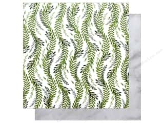 """Clearance: Bo Bunny Collection Garden Party Paper 12""""x 12"""" Nature (25 pieces)"""