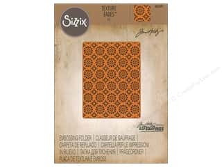 Sizzix Embossing Folders Tim Holtz Texture Fades Rosettes