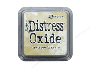 oxide: Ranger Tim Holtz Distress Ink Pad Oxide Antique Linen