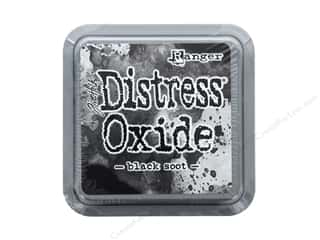 stamps: Ranger Tim Holtz Distress Oxide Ink Pad Black Soot