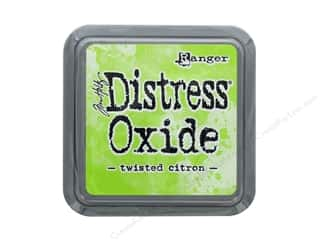stamps: Ranger Tim Holtz Distress Oxide Ink Pad Twisted Citron