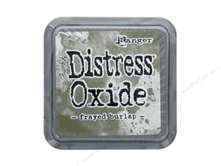 Ranger Tim Holtz Distress Ink Pad Oxide Frayed Burlap