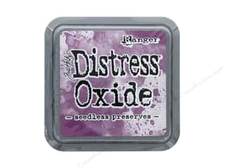 stamps: Ranger Tim Holtz Distress Oxide Ink Pad Seedless Preserves