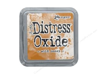 scrapbooking & paper crafts: Ranger Tim Holtz Distress Oxide Ink Pad Wild Honey