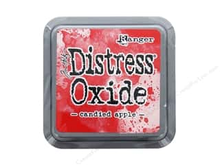 oxide: Ranger Tim Holtz Distress Ink Pad Oxide Candied Apple