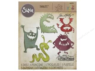 dies: Sizzix Dies Tim Holtz Thinlits Silly Monsters