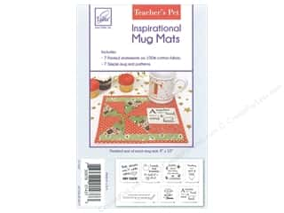 June Tailor Patterns Inspirational Mug Mat Panel Teacher & Pattern