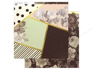 Simple Stories Collection Beautiful Paper 12 in. x 12 in. Live Beautiful (25 pieces)