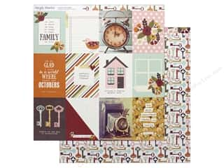 scrapbooking & paper crafts: Simple Stories Collection Vintage Blessing Paper 12 in. x 12 in. Journaling cards 3 in. x 4 in. (25 pieces)