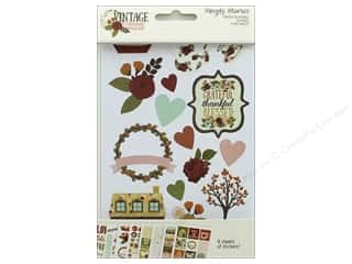 """Simple Stories Collection Vintage Blessing Sticker 4""""x 6"""""""