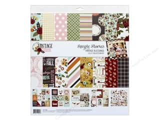 Simple Stories: Simple Stories Collection Vintage Blessing Collection Kit 12 in. x 12 in.