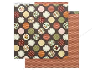 scrapbooking & paper crafts: Simple Stories Collection Vintage Blessing Paper 12 in. x 12 in.  Homespun Happiness (25 pieces)
