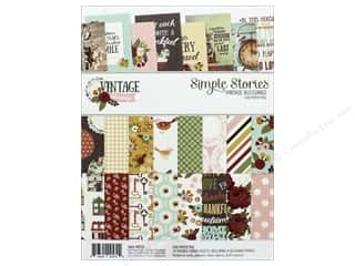 Simple Stories: Simple Stories Collection Vintage Blessing Paper Pad 6 in. x 8 in.