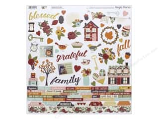 "Simple Stories Collection Vintage Blessing Sticker Combo 12""x 12"" (12 pieces)"