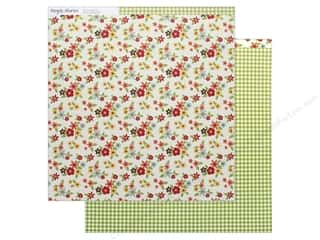 Simple Stories Collection Happy Harvest Paper 12 in. x 12 in.  Grateful Hearts (25 pieces)