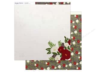 "Simple Stories Collection Very Merry Paper 12""x 12"" Season's Greetings Picture"
