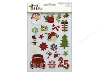 Simple Stories Collection Very Merry Sticker Clear