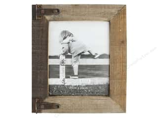 Wood Photo Frame: Sierra Pacific Crafts Wood Frame With 2 Hinge 8 in. x 10 in.  Brown