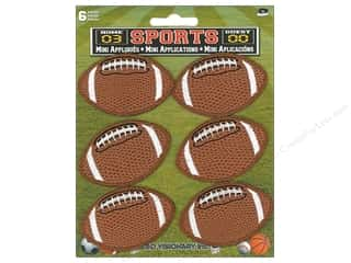 C&D Visionary Applique Football 6pc