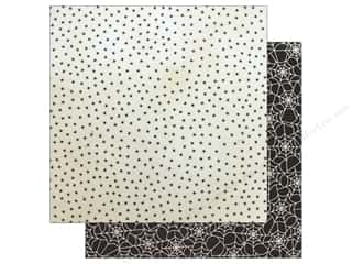 """Pebbles Collection Midnight Haunting Paper 12""""x 12"""" Creepy Crawly (25 pieces)"""