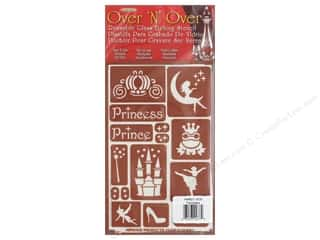 craft & hobbies: Armour Over 'N' Over Stencil Fairytales