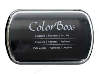 stamps: ColorBox Pigment Ink Pad Full Size Limited Edition Espresso