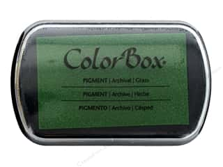 stamps: ColorBox Pigment Ink Pad Full Size Grass