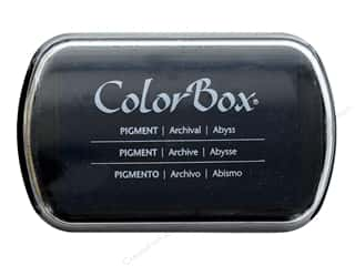 stamps: ColorBox Pigment Ink Pad Full Size Abyss