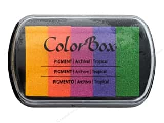 scrapbooking & paper crafts: ColorBox Pigment Inkpad 5 Color Tropical