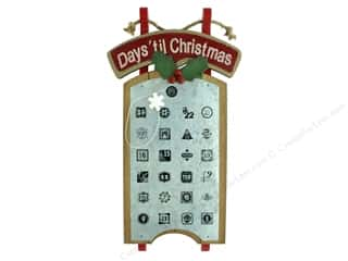 novelties: Darice Wall Calendar Countdown Sled