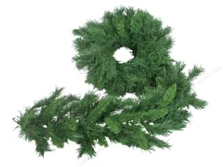 novelties: Darice Christmas Garland Mix Pine 9 ft 8 in.