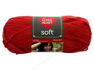 yarn & needlework: Red Heart Soft Yarn 256 yd. #9263 Cinnabar