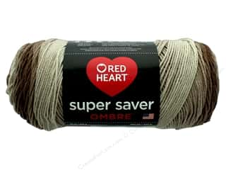 yarn & needlework: Red Heart Super Saver Ombre Yarn 482 yd. #3987 Ombre Cocoa