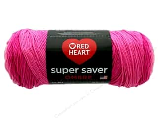 Red Heart Super Saver Ombre Yarn 482 yd. #3966 Jazzy