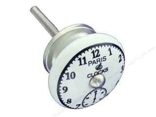 craft & hobbies: Darice Hardware Knob Ceramic Paris Clock