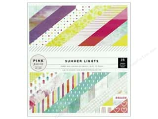 """Pink Paislee Collection Summer Lights Paper Pad 6""""x 6"""""""
