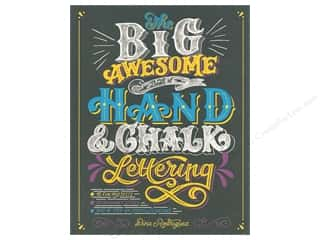 scrapbooking & paper crafts: DK Publishing Big Awesome Book of Hand & Chalk Lettering