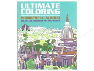 Thunder Bay Wonderful World Ultimate Color Book