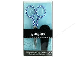 Gingher 4 in. Designer Embroidery Scissors - Lauren