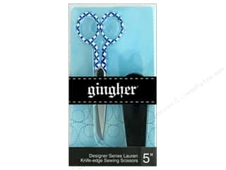"Gingher Scissor 5"" Designer Knife Edge Lauren"